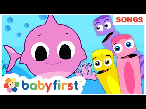 baby-shark-song-w-color-crew-|-summer-songs-compilation-|-babyfirst-tv-songs-for-children