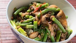 Szechuan Mushroom Stir Fry