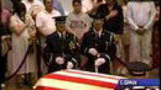 Changing of the Guard - Reagan Lying in State