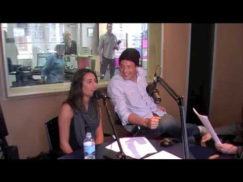 GLEE Cast Interview - Cory Monteith and Lea Michele