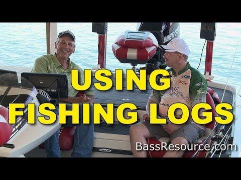 Using Fishing Logs To Catch More Fish   Bass Fishing