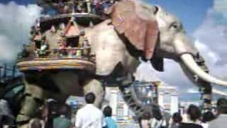 l'éléphant de la cOmpagnie Royale de Luxe