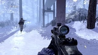 Very Nostalgic Sniper Mission from Call of Duty Modern Warfare 2
