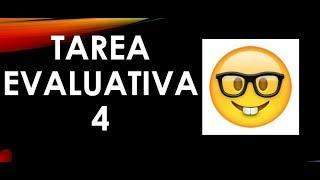 Soy Docente: TAREA EVALUATIVA 4