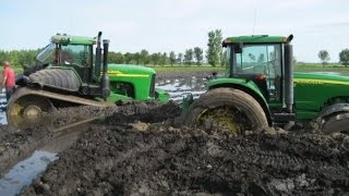 B-E-S-T Tractors Stuck In Mud Compilation