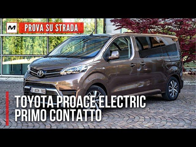 TOYOTA PROACE ELECTRIC 2021 | Prima PROVA SU STRADA della Verso da 8 posti