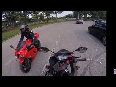 """Meet The Bikers In Fresh Meadows Park, With 2017 YZF R3"""""""