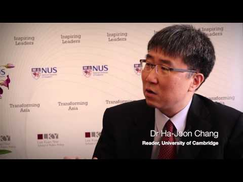 Exclusive interview with Dr Ha-Joon Chang