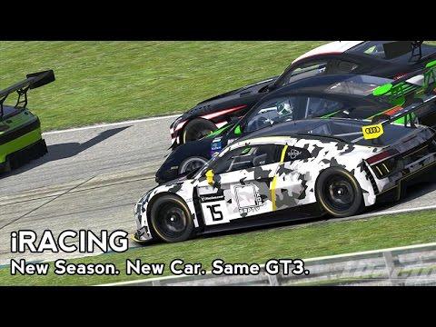 iRacing : New Season. New Car. Same GT3. (Audi R8 GT3 @ Sebring)