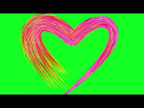 FREE Top 10 Green Screen    Love _ Heart Effect