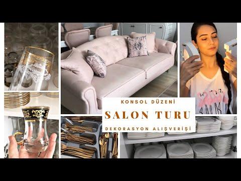 SALON TURU | DEKORASYON ALIŞVERİŞİ | KONSOL DÜZENİ (Aliexpress-Vivense-Chimahome-Stradivarius)