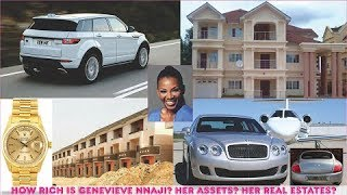 How rich is Genevieve Nnaji  All Her Mansion Cars Real Estates amp Luxuries