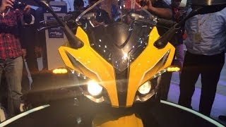 Pulsar SS400 (RS 400) first look - walk around Auto Expo 2014