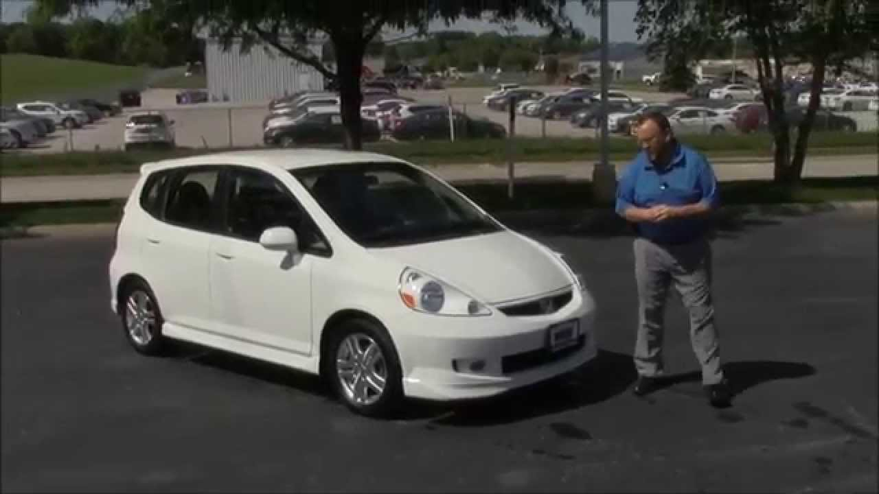 Used 2007 Honda Fit Sport For At Cars Of Bellevue An Omaha Dealer You