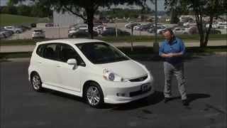 Used 2007 Honda Fit Sport for sale at Honda Cars of Bellevue...an Omaha Honda Dealer!