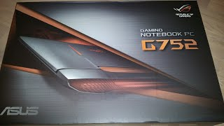 ASUS ROG G752VT: Unboxing & Overview