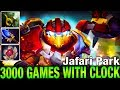 3000 GAMES WITH CLOCK - Jafari Park Plays Clockwerk with Lotus Orb and Without Blade Mail - Dota 2