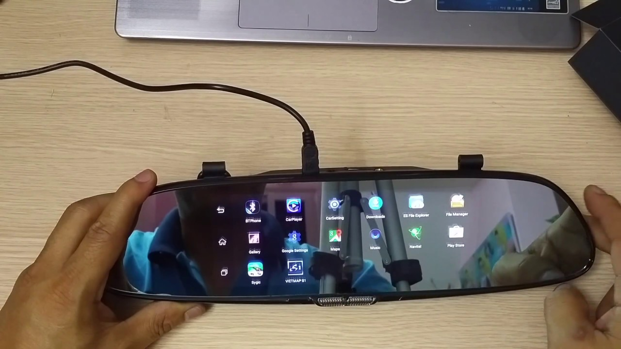 Camera hành trình Firstscene C08 android 3G Wifi - YouTube
