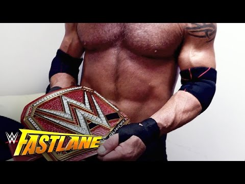 Goldberg is at a loss for words after his historic night: WWE Fastlane Exclusive, March 5, 2017