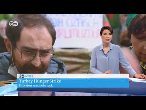 Turkey Hunger Strike - Educators want jobs back 12.07.2017