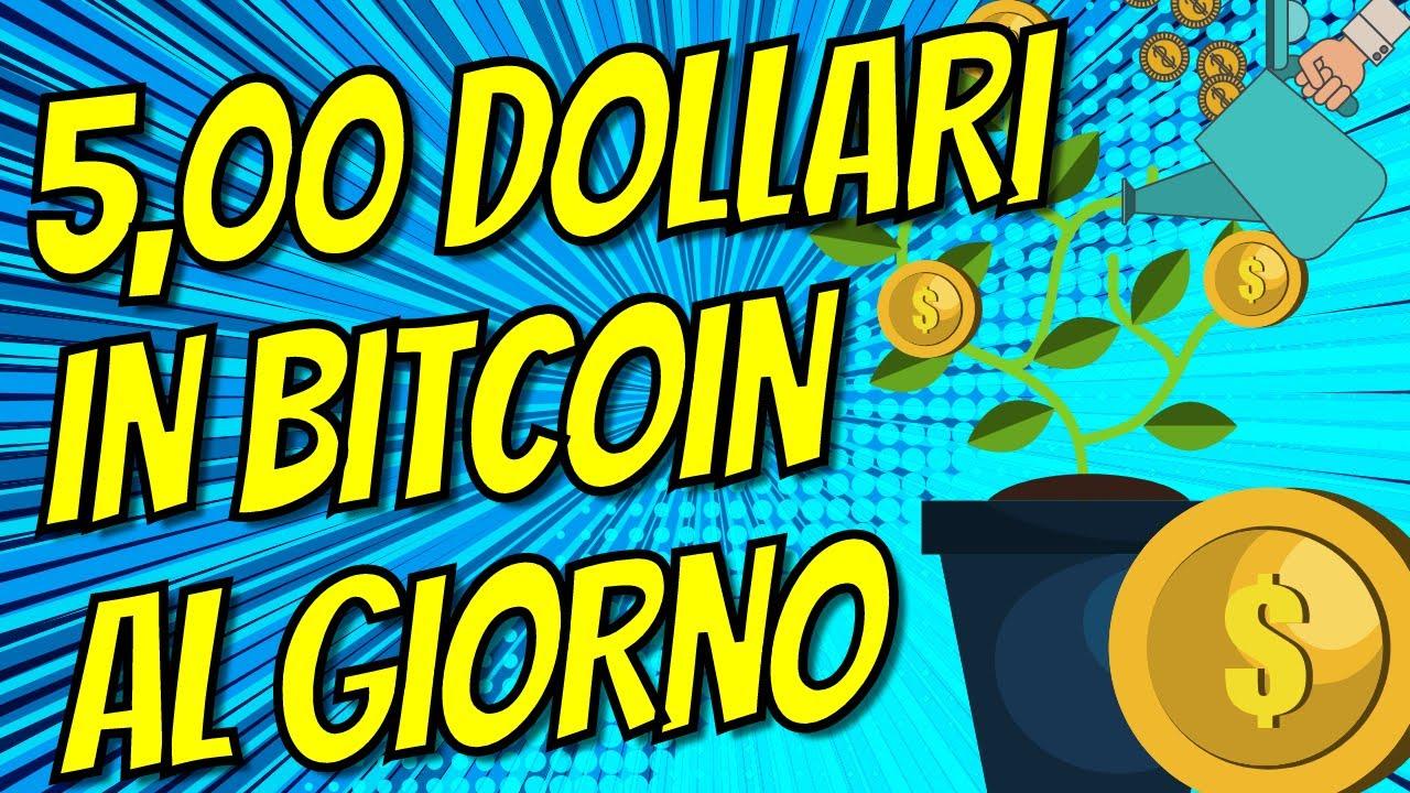 richiedi il tuo bitcoin