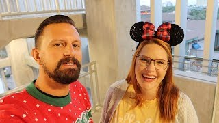 Festive & Cheap Date Night At Disney Springs! | Christmas Tree Trail, Holiday Food & More!