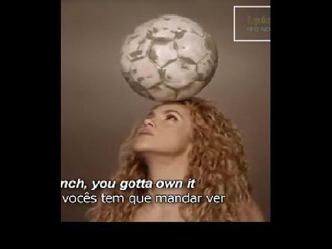 Sakira La La La I Dare You , Fifa World Cup Song - Sakira La La La,