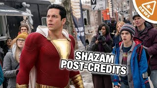 What Shazam's Weird Post-Credits Character Means for the DCEU! (Nerdist News w/ Jessica Chobot)
