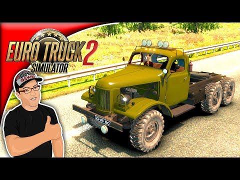 Euro Truck Simulator 2 Mods ZIL 157 Mod Review