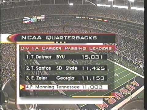 1997 # 3 Tennessee vs # 11 Auburn