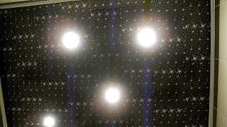 Звездный потолок в ванне из зеркал ч 2