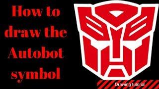 Quick sketch: The autobot symbol