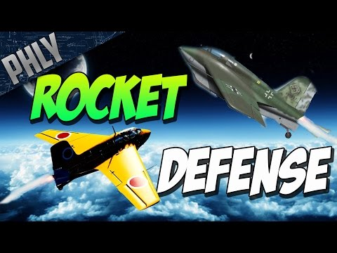 The Defense Of AUSTRALIA - ROCKET SCRAMBLE! (War Thunder Gameplay)