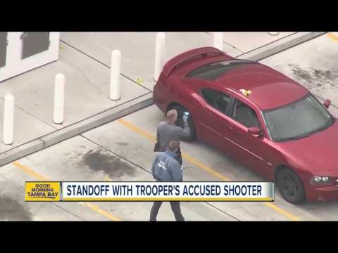 Standoff with Trooper