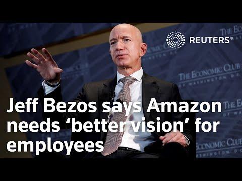 Jeff Bezos says Amazon needs 'better vision' for employees