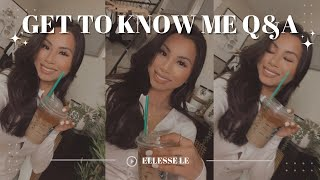 GET TO KNOW ME Q&A! my career, proudest moment, what inspired my YouTube channel & more! 🤍
