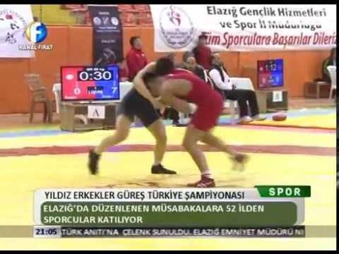Kanal Fırat Spor - Yıldız Erkekler Güreş Türkiye Şampiyonası