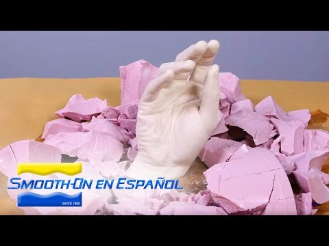 f2343c852 Como hacer un molde y un vaciado en yeso de una mano usando el kit básico  de alginato Alja-Safe® - YouTube