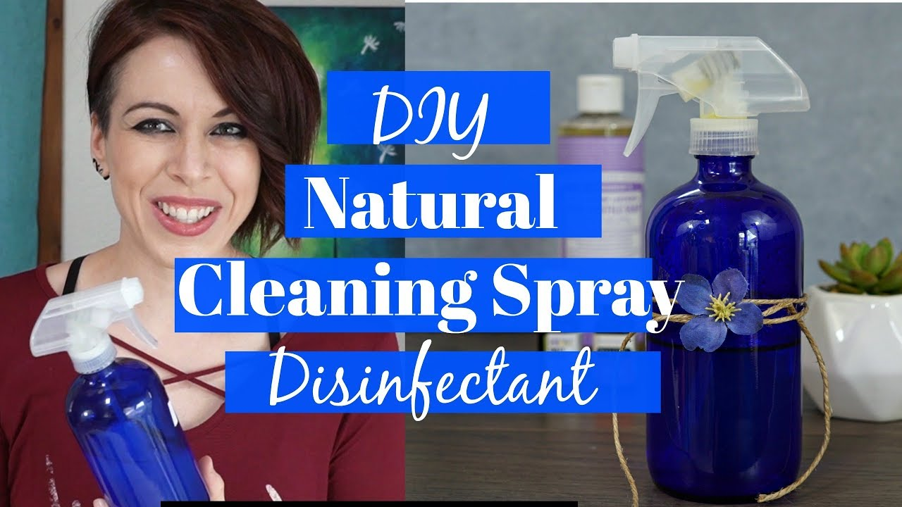 DIY Natural Cleaning Spray! Non-toxic green cleaning with