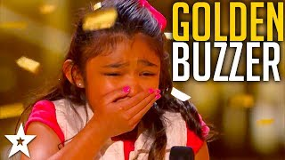 Download Girl on Fire Angelica Hale Gets the Guest GOLDEN BUZZER! Mp3 and Videos