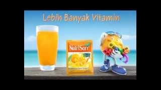 Iklan NutriSari 2013 Versi NutriSari banyak Vitamin