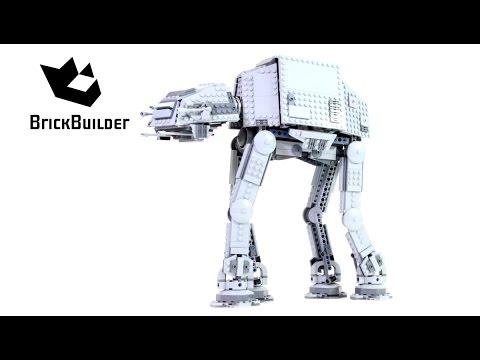 Lego Star Wars 75054 AT-AT - Lego Speed Build
