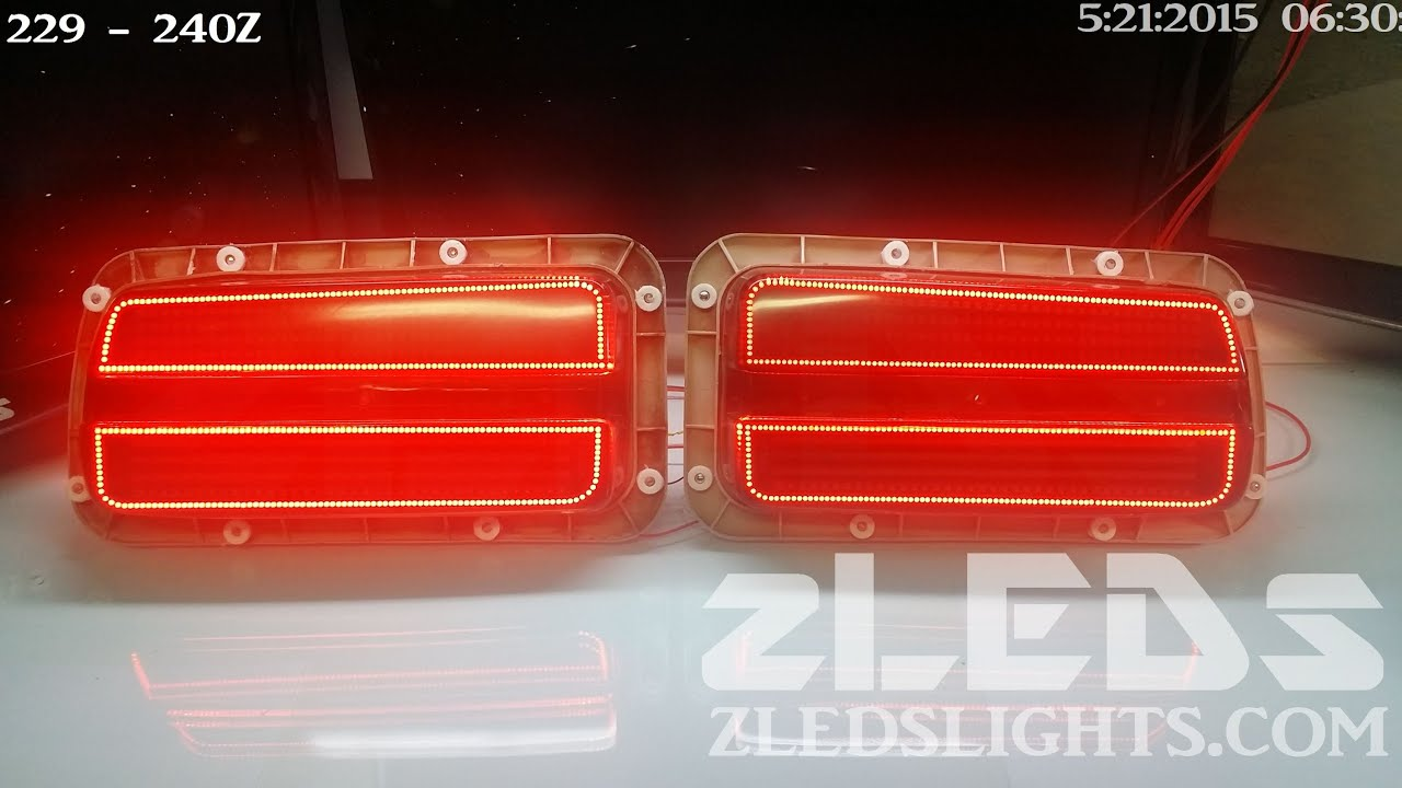 Datsun 240z Custom Sequential Led Tail Light By Zleds