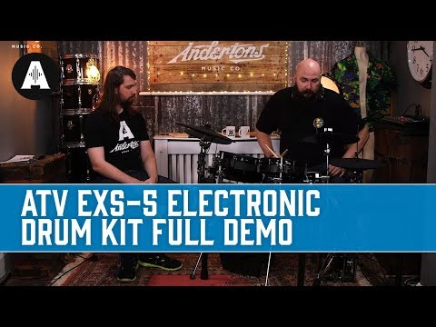 ATV EXS-5 - One of the Best Electronic Drum Kits We've Ever Seen!