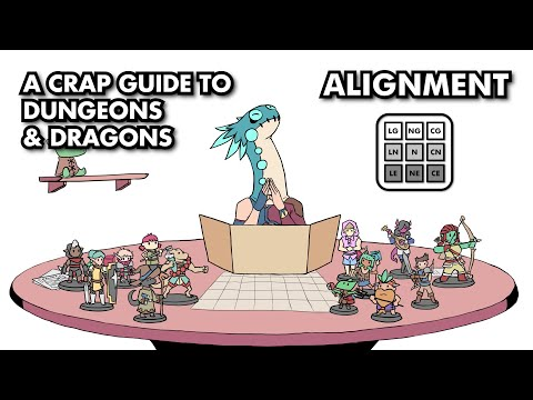 A Crap Guide to D&D [5th Edition] - Alignment