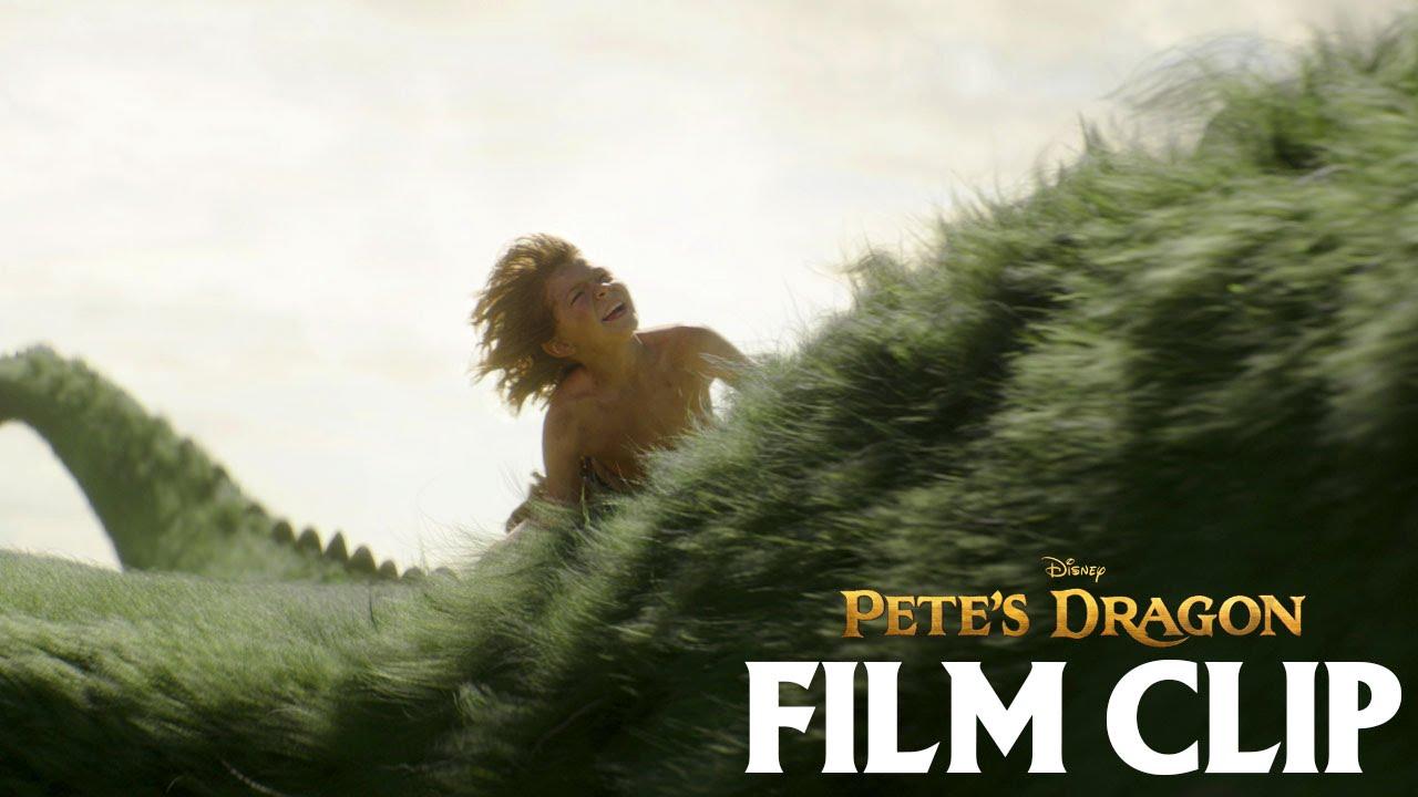 """Elliot Takes Pete for a Ride"" Clip - Disney's Pete's Dragon"