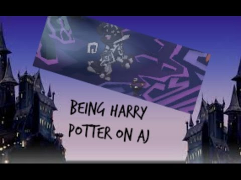 Being Harry Potter On Aj!