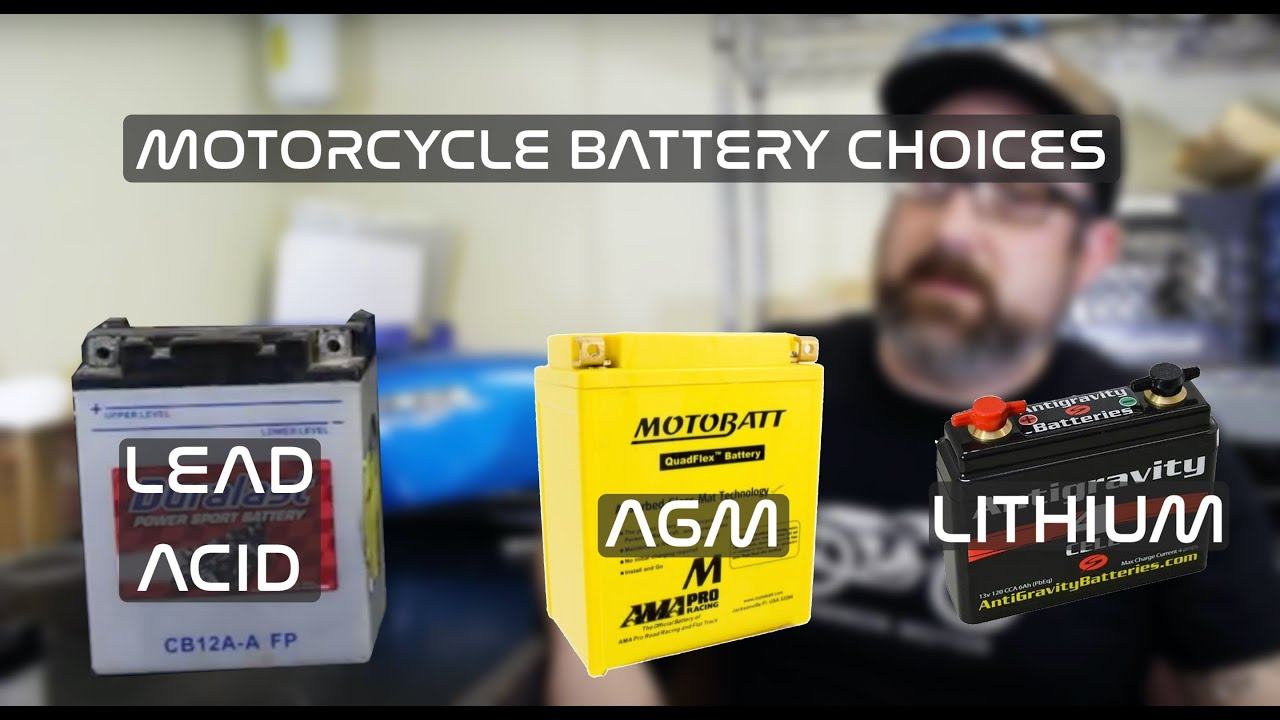 battery choices for honda cb350 cb360 cb450 cb550 [ 1280 x 720 Pixel ]