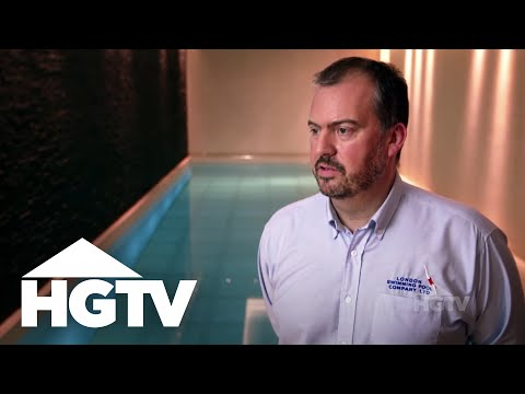 Moving Floor Underground Pool - HGTV