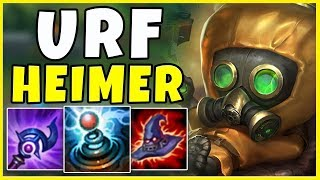 THE MOST ANNOYING CHAMP IN URF (HILARIOUS) - League of Legends